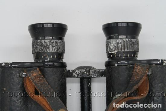 Antigüedades: PRISMATICOS BINOCULARES OPTIKOTECHNA PRERAU PREROV 6 x 30 MEOPTA . CHECOSLOVAQUIA CA 1940 - Foto 3 - 209589408