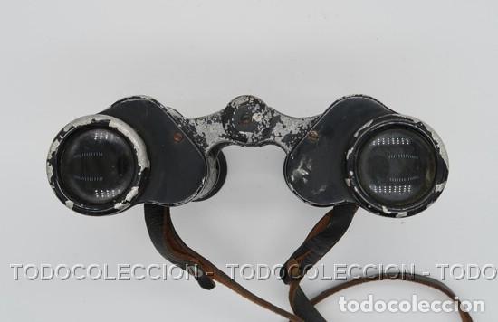 Antigüedades: PRISMATICOS BINOCULARES OPTIKOTECHNA PRERAU PREROV 6 x 30 MEOPTA . CHECOSLOVAQUIA CA 1940 - Foto 6 - 209589408