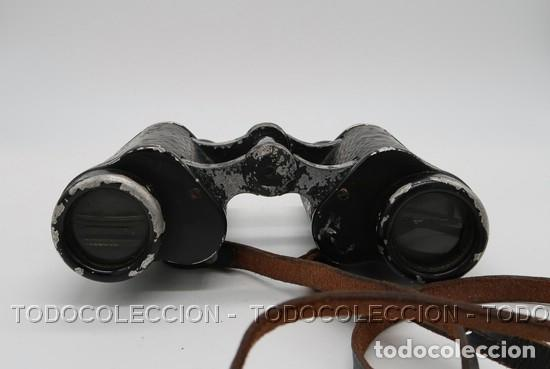 Antigüedades: PRISMATICOS BINOCULARES OPTIKOTECHNA PRERAU PREROV 6 x 30 MEOPTA . CHECOSLOVAQUIA CA 1940 - Foto 7 - 209589408