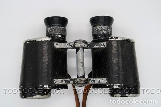 PRISMATICOS BINOCULARES OPTIKOTECHNA PRERAU PREROV 6 X 30 MEOPTA . CHECOSLOVAQUIA CA 1940 (Antigüedades - Técnicas - Instrumentos Ópticos - Prismáticos Antiguos)