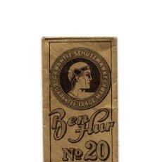 Antigüedades: HOJA DE AFEITAR CON FUNDA - SOLINGEN - BEN-HUR Nº 20 - MADE IN GERMANY. Lote 209592946