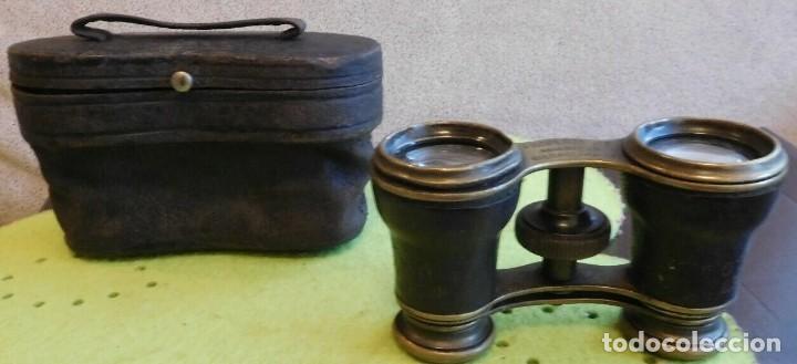 Antigüedades: ANTIGUOS BINOCULARES DE ÓPERA FINALES SIGLO XIX SOBRE EL AÑO 1880 DE NUEVA YORK ESTADOS UNIDOS - Foto 4 - 209649780