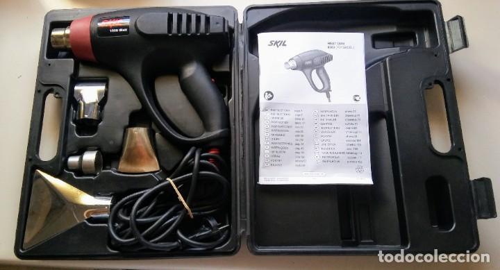 Antigüedades: AMOLADORA SKILL 1800W HEAT GUN 8003 - Foto 2 - 209667663