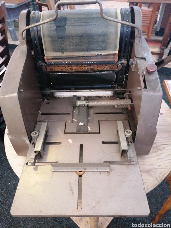 Antigüedades: Multicopista de imprenta - Foto 2 - 209685801