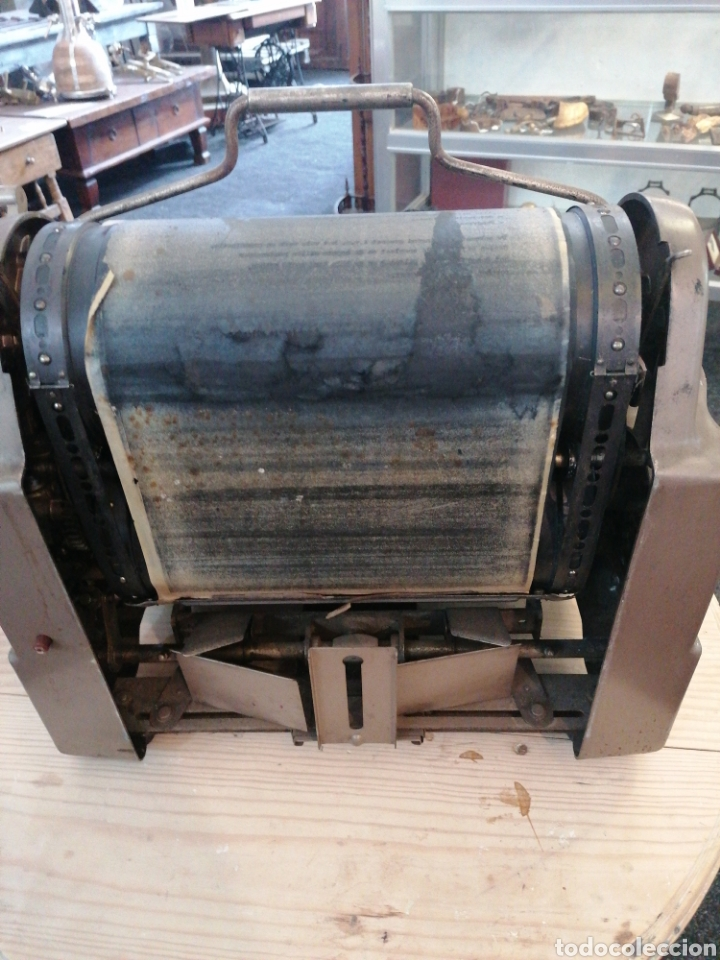 Antigüedades: Multicopista de imprenta - Foto 4 - 209685801