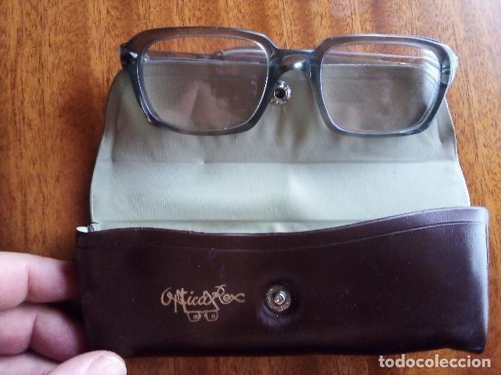 Antigüedades: Gafas de cerca, montura de pasta. Óptica Rex. - Foto 2 - 209740378