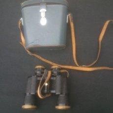 Antigüedades: VINTAGE GLANZ OPTICS. 7 X 35. FIELD 6.5º. MADE IN JAPAN. EN FUNDA DE CUERO. Lote 209760217