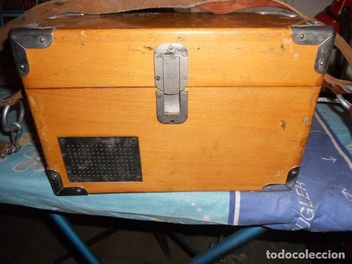 Teléfonos: telefono antiguo en su maleta maletin a pilas citesa muy buen estado el conjunto - Foto 2 - 209803388