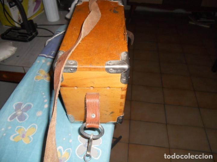 Teléfonos: telefono antiguo en su maleta maletin a pilas citesa muy buen estado el conjunto - Foto 3 - 209803388