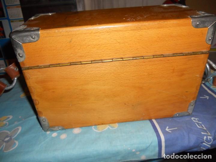 Teléfonos: telefono antiguo en su maleta maletin a pilas citesa muy buen estado el conjunto - Foto 4 - 209803388