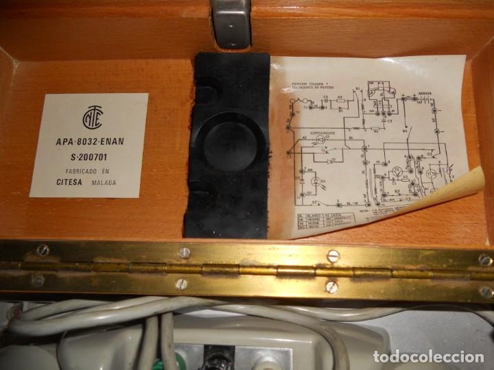 Teléfonos: telefono antiguo en su maleta maletin a pilas citesa muy buen estado el conjunto - Foto 7 - 209803388