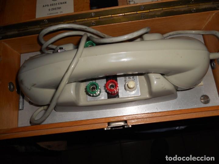 Teléfonos: telefono antiguo en su maleta maletin a pilas citesa muy buen estado el conjunto - Foto 8 - 209803388