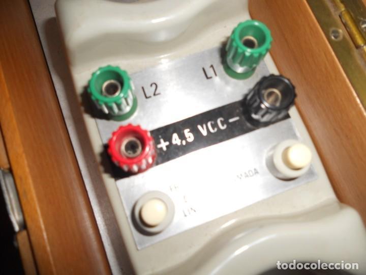 Teléfonos: telefono antiguo en su maleta maletin a pilas citesa muy buen estado el conjunto - Foto 11 - 209803388