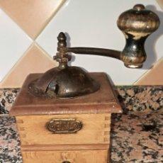 Antigüedades: ANTIGUO MOLINILLO CAFE MARCA ELMA. Lote 209840260