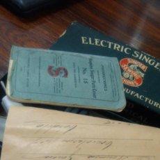 Antigüedades: BOMBILLA DE SINGER ANTIGUA HECHA EN HOLANDA. ELECTRIC SINGERLIGHT ...1933. Lote 209896663