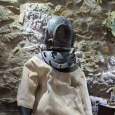 Antigüedades: ESCAFANDRA SIEBE GORMAN & CO CON TRAJE Y BOTAS.. Lote 131119527