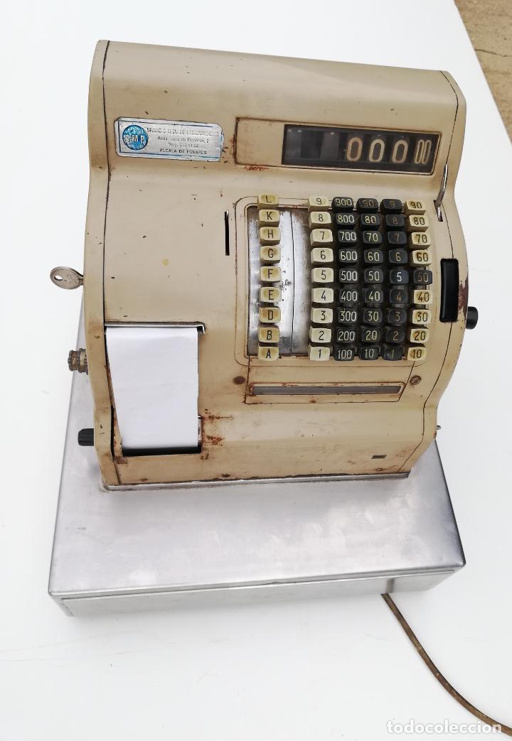 Antigüedades: Caja registradora Gispert SA - Foto 8 - 209966668