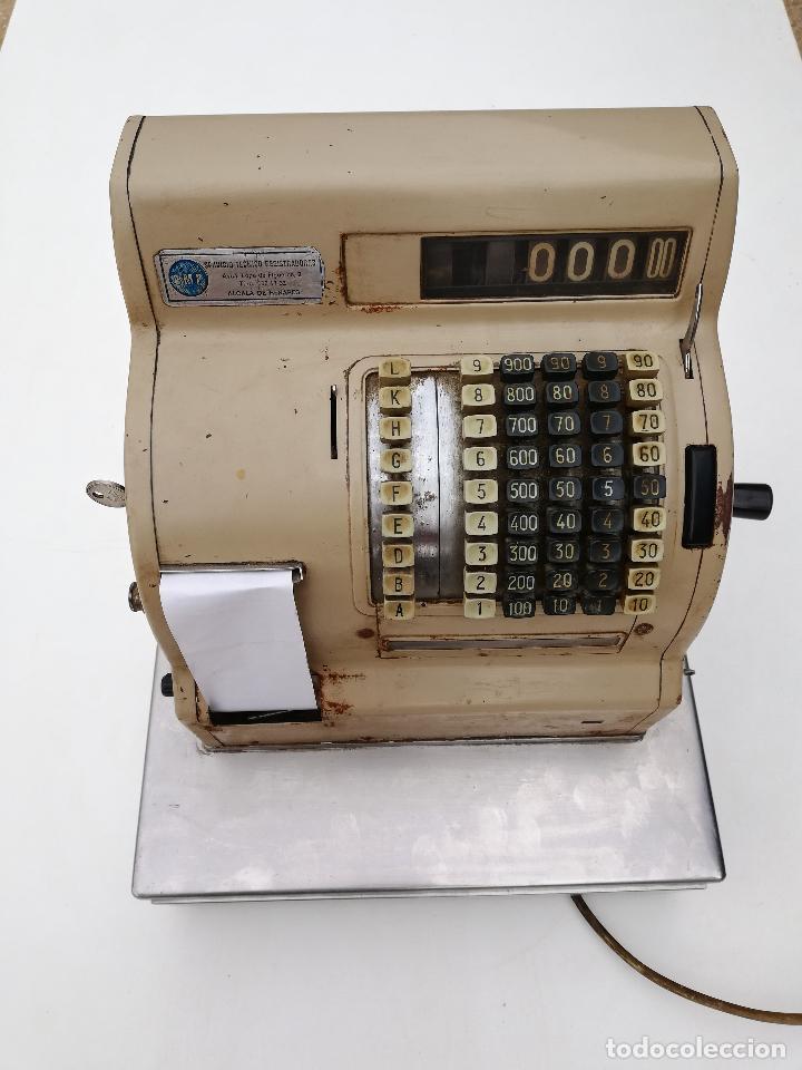 Antigüedades: Caja registradora Gispert SA - Foto 10 - 209966668