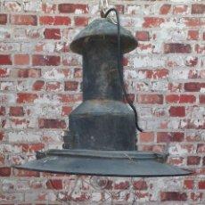 Antiquités: LÁMPARA DE BARCO PRIMERA MITAD SIGLO XX. Lote 209999690