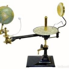 Antigüedades: 1900CA - ¡ DE MUSEO ! - PLANETARIO TELURIO LUNARIUM TELLURION ORRERY VALLARDI. Lote 210003702