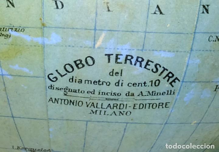 Antigüedades: 1900CA - ¡ DE MUSEO ! - PLANETARIO TELURIO LUNARIUM TELLURION ORRERY Vallardi - Foto 7 - 210003702