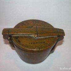 Antigüedades: ANTIGUOS Y MUY RAROS PONDERALES DE BRONCE.....SPANISH...VER FOTOS.. Lote 210006642