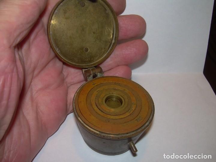 Antigüedades: ANTIGUOS Y MUY RAROS PONDERALES DE BRONCE.....SPANISH...VER FOTOS. - Foto 6 - 210006642