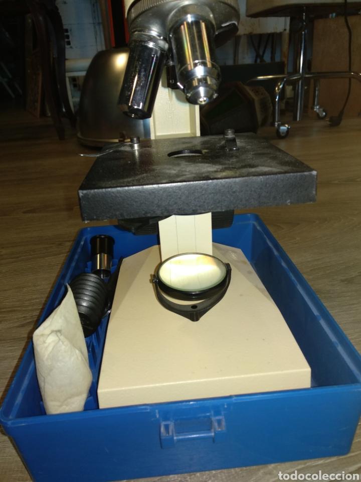 Antigüedades: Microscopio Enosa años 80 - Foto 2 - 210023190