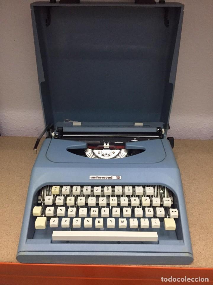 ANTIGUA MAQUINA DE ESCRIBIR UNDERWOOD 15 (Antigüedades - Técnicas - Máquinas de Escribir Antiguas - Underwood)