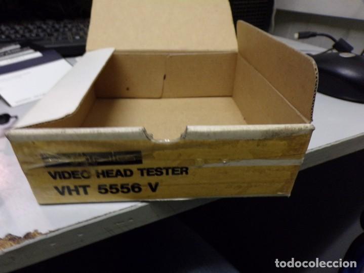 Antigüedades: aparato comprovador video head tester vht 5556 v nuevo en su caja con instrucciones - Foto 4 - 210177657