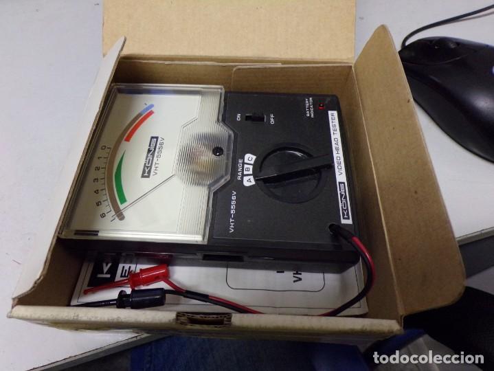 Antigüedades: aparato comprovador video head tester vht 5556 v nuevo en su caja con instrucciones - Foto 8 - 210177657