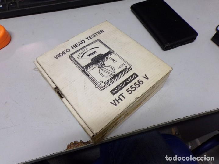 Antigüedades: aparato comprovador video head tester vht 5556 v nuevo en su caja con instrucciones - Foto 9 - 210177657