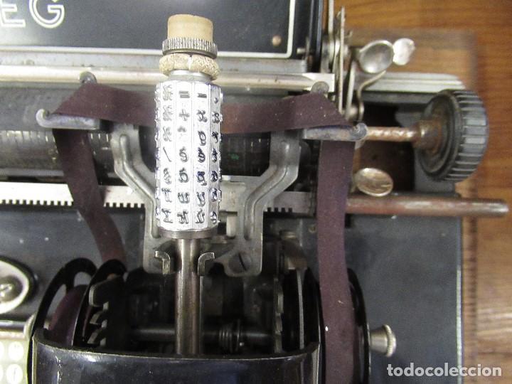 Antigüedades: MAQUINA DE ESCRIBIR MIGNON AEG - CON CAJA ORIGINAL - - Foto 3 - 210187050