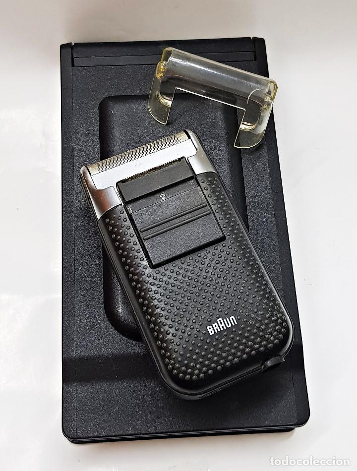 Antigüedades: Máquina de afeitar eléctrica Braun.Máquina de afeitar eléctrica Braun. - Foto 2 - 210190783