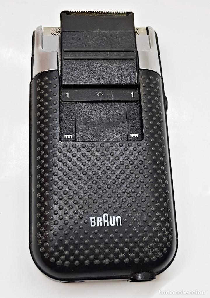 Antigüedades: Máquina de afeitar eléctrica Braun.Máquina de afeitar eléctrica Braun. - Foto 3 - 210190783