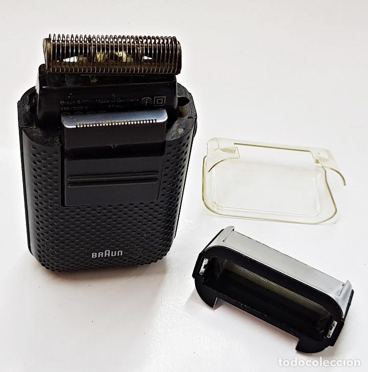 Antigüedades: Máquina de afeitar eléctrica Braun.Máquina de afeitar eléctrica Braun. - Foto 5 - 210190783