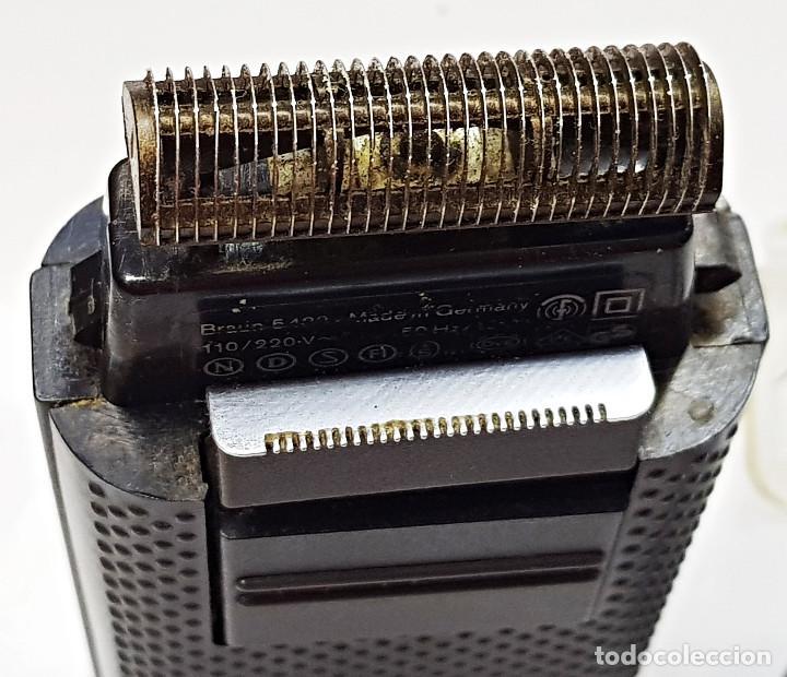 Antigüedades: Máquina de afeitar eléctrica Braun.Máquina de afeitar eléctrica Braun. - Foto 6 - 210190783