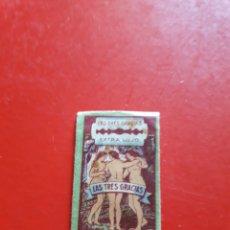 Antigüedades: ANTIGUA HOJA DE AFEITAR, LAS TRES GRACIAS, EXTRA LUJO, HIJOS DE R, ROJO. Lote 210190960