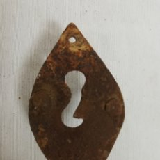 Antigüedades: ANTIGUO BOCALLAVE EN HIERRO FORJADO. SIGLO XIX.. Lote 210239288