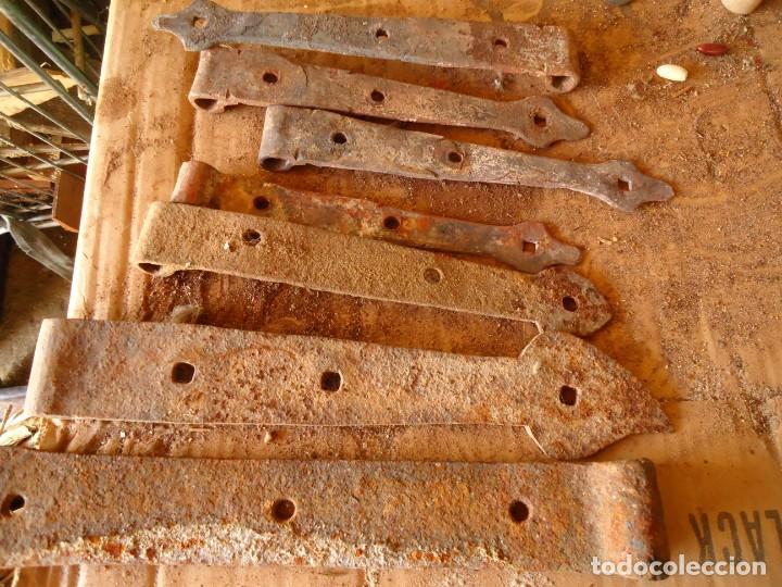 BISAGRAS DE FORJA (Antigüedades - Técnicas - Cerrajería y Forja - Varios Cerrajería y Forja Antigua)