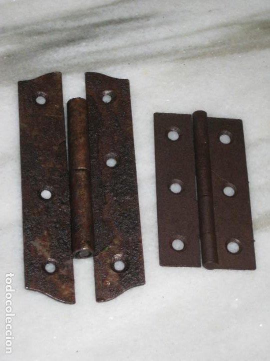 Antigüedades: Lote de bisagras antiguas - Foto 2 - 210329095