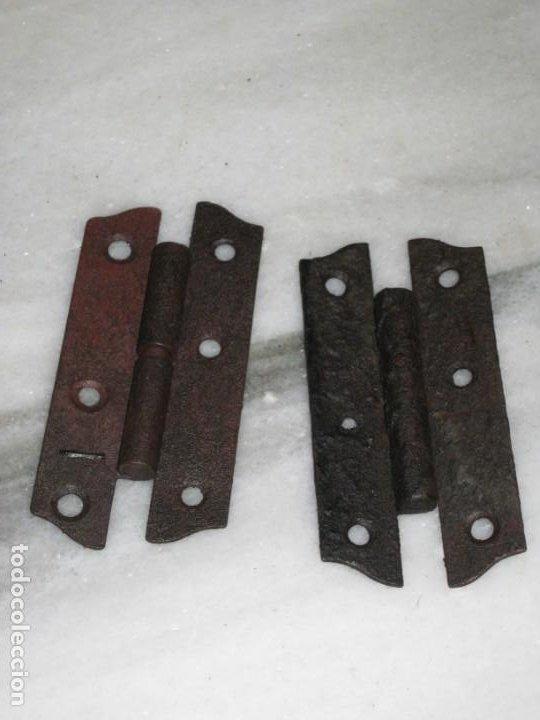 Antigüedades: Lote de bisagras antiguas - Foto 7 - 210329095
