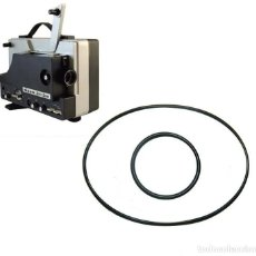 Antigüedades: CORREA PROYECTOR SUPER 8 - TITAN LSP 510 SUPER SOUND, DS 600 M, DS 610 M. Lote 210353546