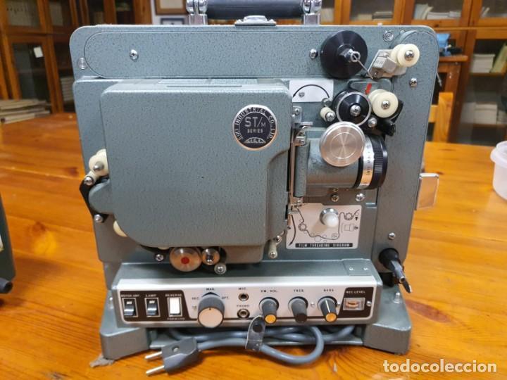 Antigüedades: Proyector película 16mm Eiki Industrial Serie ST/M antiguo - Foto 3 - 210383068