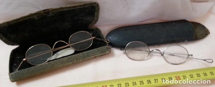 GAFAS CENTENARIAS. CONJUNTO DE LENTES DE ÉPOCA. HUNDREDS OF GLASSES. (Antigüedades - Técnicas - Instrumentos Ópticos - Gafas Antiguas)
