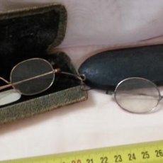 Antigüedades: GAFAS CENTENARIAS. CONJUNTO DE LENTES DE ÉPOCA. HUNDREDS OF GLASSES.. Lote 210386601