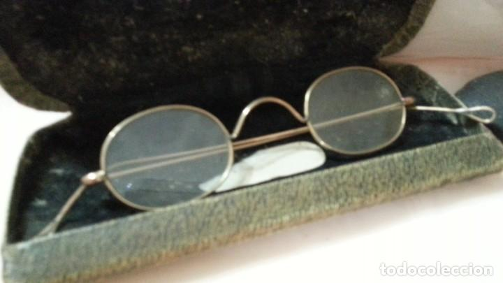 Antigüedades: Gafas centenarias. Conjunto de lentes de época. Hundreds of glasses. - Foto 2 - 210386601