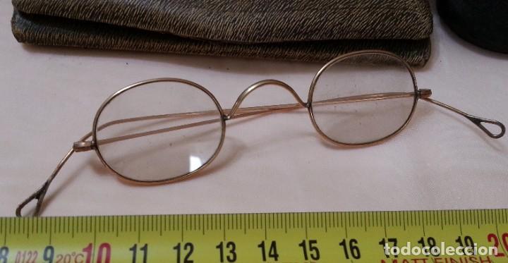Antigüedades: Gafas centenarias. Conjunto de lentes de época. Hundreds of glasses. - Foto 5 - 210386601
