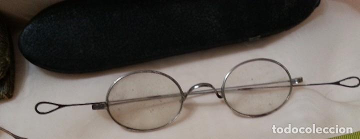 Antigüedades: Gafas centenarias. Conjunto de lentes de época. Hundreds of glasses. - Foto 6 - 210386601