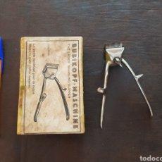 Antigüedades: PEQUEÑA MÁQUINA DE CORTAR PELO N°0000 SAMSAR SOLINGEN. Lote 253354755